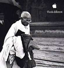 apple iphone gandhi