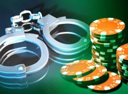 Gambling arrest