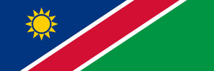 Flag Namibia