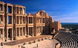Leptis Magna ruins