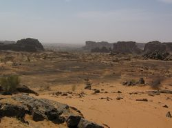 Mauritania landscape